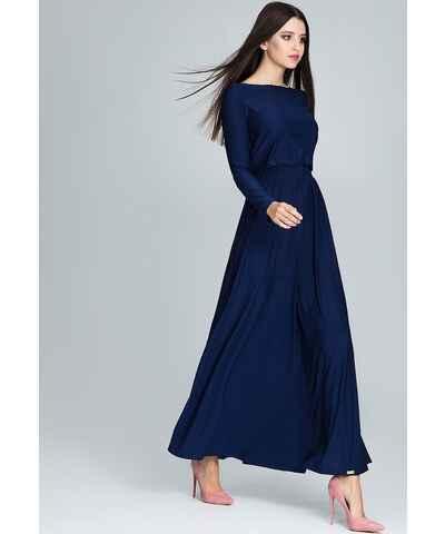 99a224636c27 Modré Elegantné Šaty z obchodu Londonclub.sk - Glami.sk