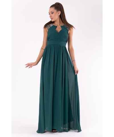Plesové šaty s holými zády  d637344c61
