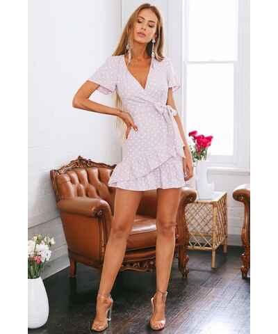 Růžové šaty  928651d110