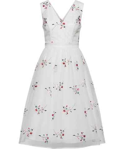 Bílé jarní šaty - Glami.cz f5935ff2929