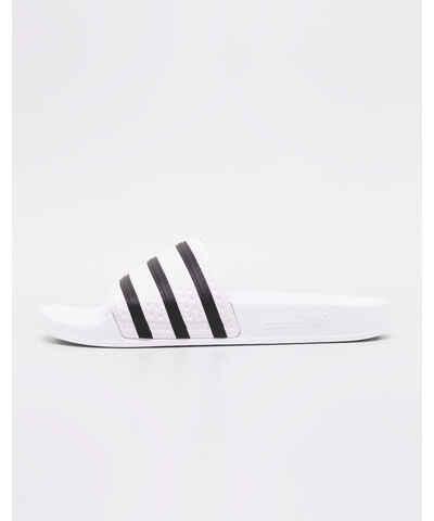 Černobílá pantofle z obchodu Freshlabels.cz - Glami.cz b76653ee9c