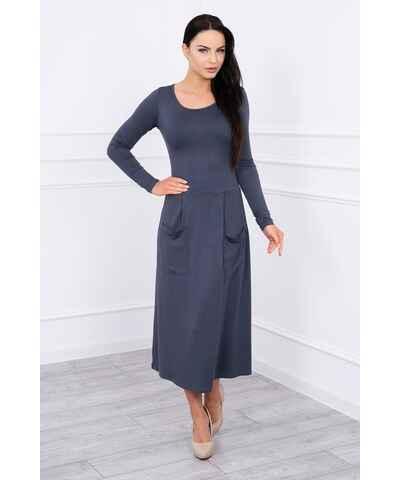 Šaty s áčkovou sukňou  b3d20a0243c