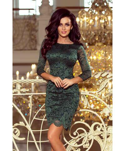 NUMOCO zelené šaty s krajkou - Glami.cz 05e659dc01