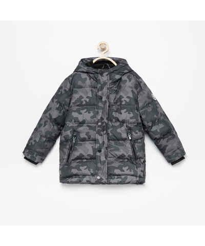 Khaki Zlacnené Pánske bundy s kapucňou - Glami.sk ae4426ff350