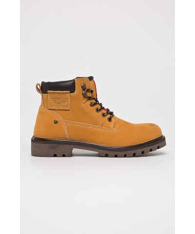 7601c17f30b2 Žlté Pánske členkové topánky - Glami.sk