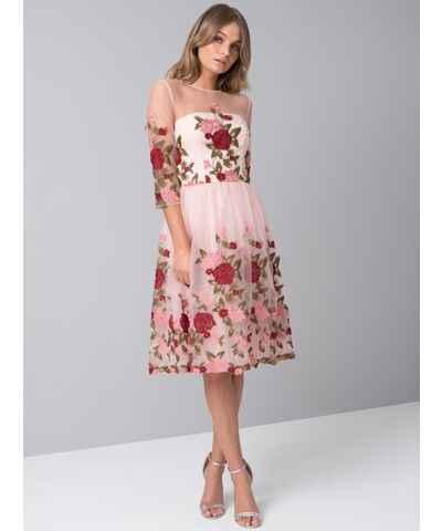137de3800767 Chi Chi London Plesové Šaty so vzorom - Glami.sk