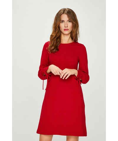 e66066d14004 Červené mini šaty s dlouhým rukávem - Glami.cz