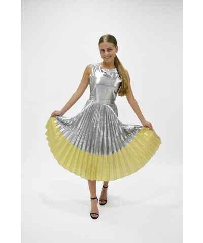 Asos svatební plisované šaty - Glami.cz de1b549767