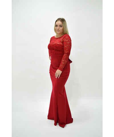Asos červené svatební šaty - Glami.cz 917928ac6a