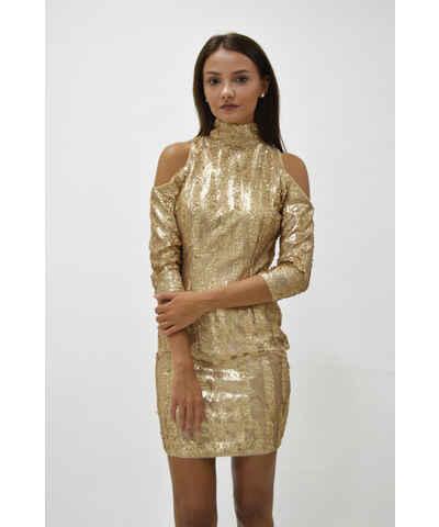 Asos společenské šaty s flitry - Glami.cz c3596d006f