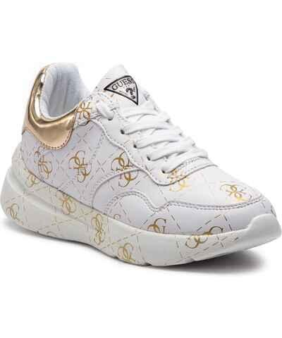 Guess šedé dámské boty na platformě - Glami.cz 466547c24d