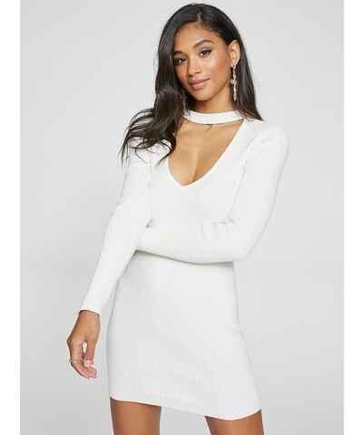 Bílé šaty z obchodu G-Butik.cz - Glami.cz 74568bbd58