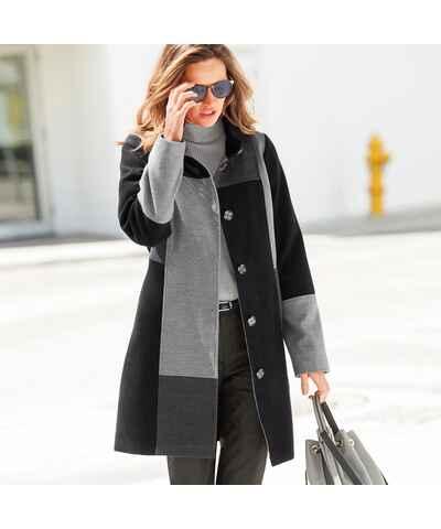 Jednofarebné Dámske kabáty na gombíky - Glami.sk c1738e1f4ed