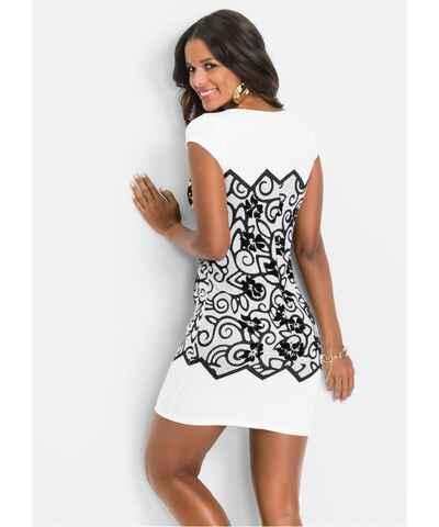 461786f0b6b5 Květované krátké pouzdrové šaty - Glami.cz