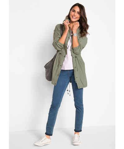 fb64e7f24dc1 Zelené dámské bundy a kabáty