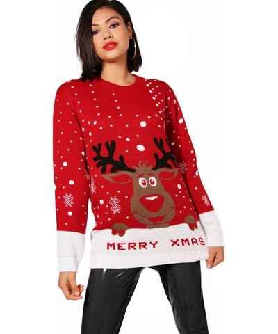 d7ba22458860 Kolekcia BOOHOO Vianočné Dámske svetre z obchodu Tamsin.sk - Glami.sk