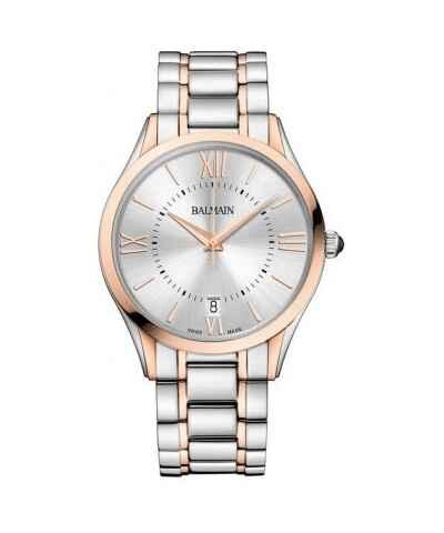 54368b7b7 Pierre Balmain, Strieborné Pánske hodinky - Glami.sk