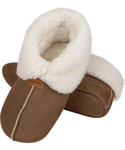 08a3a6b11463 Béžové Pánske domáce topánky