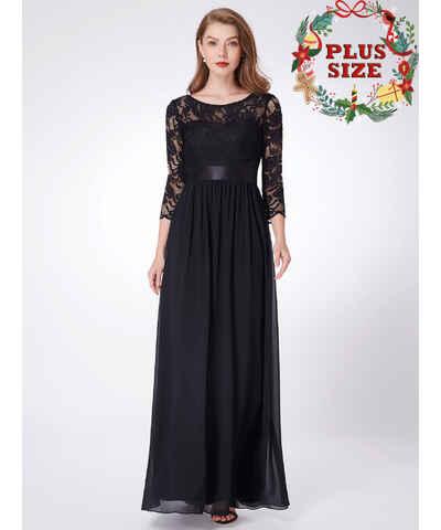 Ever Pretty černé maturitní maxi šaty - Glami.cz 7aa63fc858