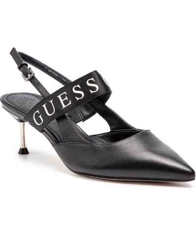 Guess šedé dámské boty na podpatku - Glami.cz 9c6ee079a6