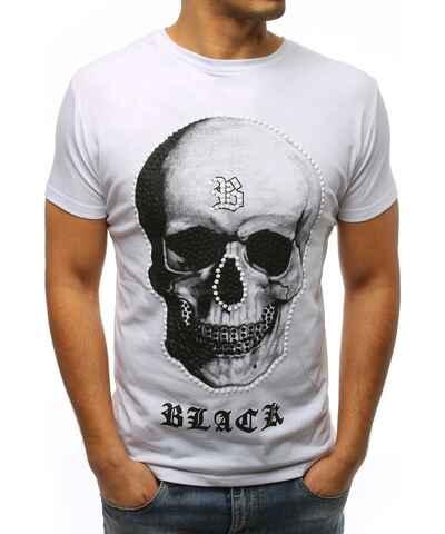 27101adb8c08 Biele Pánske tričká s krátkym rukávom z obchodu Budchlap.sk