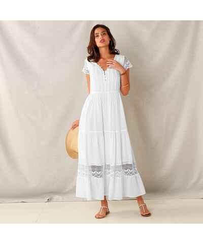 4b250fe3ef5 Bílé šaty