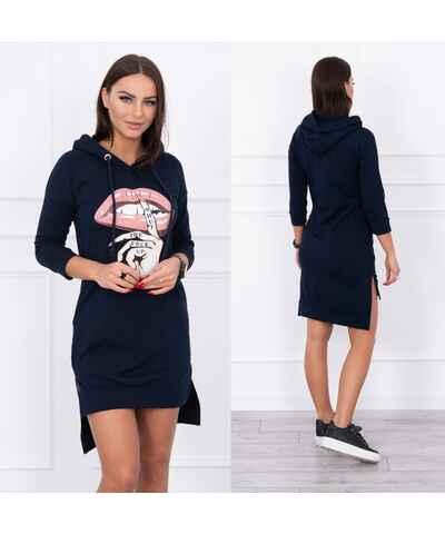 650b8db43dc5 Modré šaty z obchodu Beler.cz