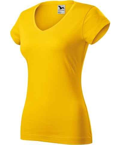 ab7414e98cf5 Dámske tričká s výstrihom do V