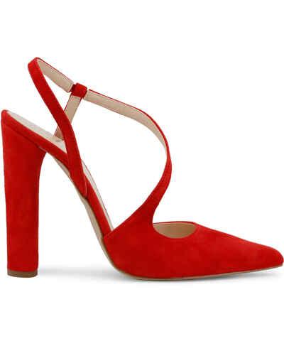 7f016073c0ffc Červené, Zlacnené Dámske topánky na vysokom podpätku | 20 kúskov na jednom  mieste - Glami.sk