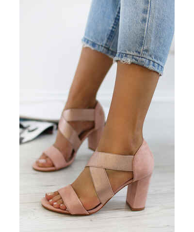 4965112047fa Ružové Dámske sandále