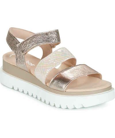 e5e868e321a2 Zlatne boje Ženske sandale od trgovine Spartoo.hr