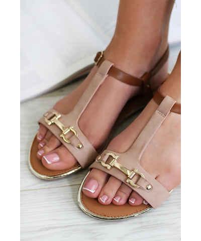 e585e5b98a Ružové Dámske sandále