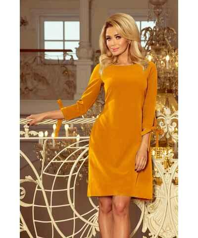 bdd8b14b1 NUMOCO, žluté šaty | 20 kousků na jednom místě - Glami.cz