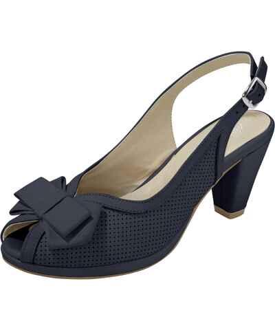 ff83698796 Tmavo modré Dámske sandále