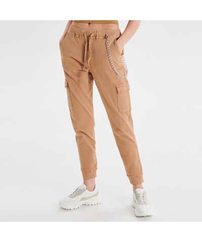 d7b0630a8c2a Béžové Dámske nohavice