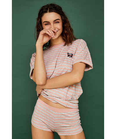 50f945d8c6c4 Sivé Dámske pyžamá