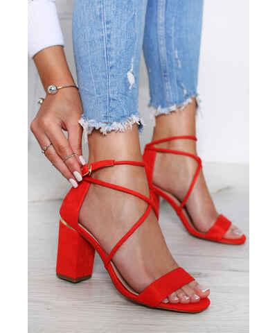 99409dbdf7 Korálové dámské sandály