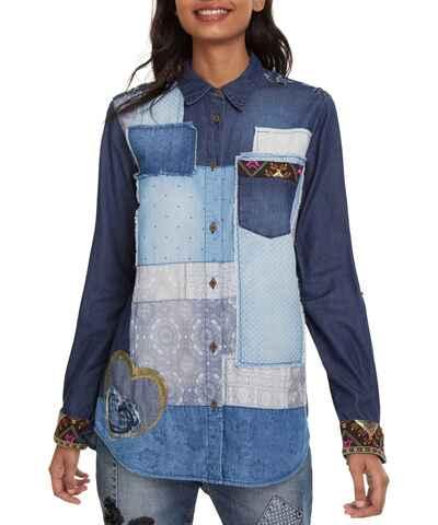 705c62bda94 Desigual, Сини Дамски дрехи и обувки   130 продукта на едно място - Glami.bg