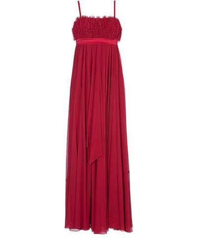 Fuchsiová šifonové plesové šaty - Glami.cz 2a2a88fce9