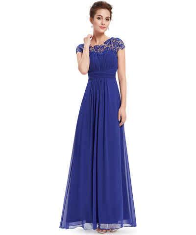 d4aa61cfd Kolekce Ever Pretty, modré, šifonové, večerní, společenské, krátké šaty pro  plnoštíhlé z obchodu Trendy-Obleceni.cz - Glami.cz