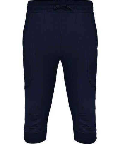 Modrá prošívané pánské kalhoty - Glami.cz e18da1d8b1
