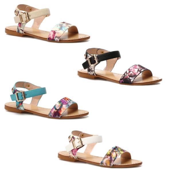 Dívčí trendy sandálky
