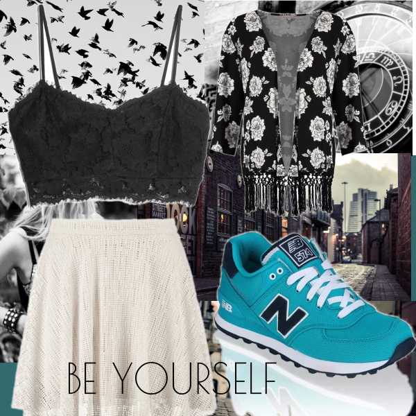 be yourself ;)