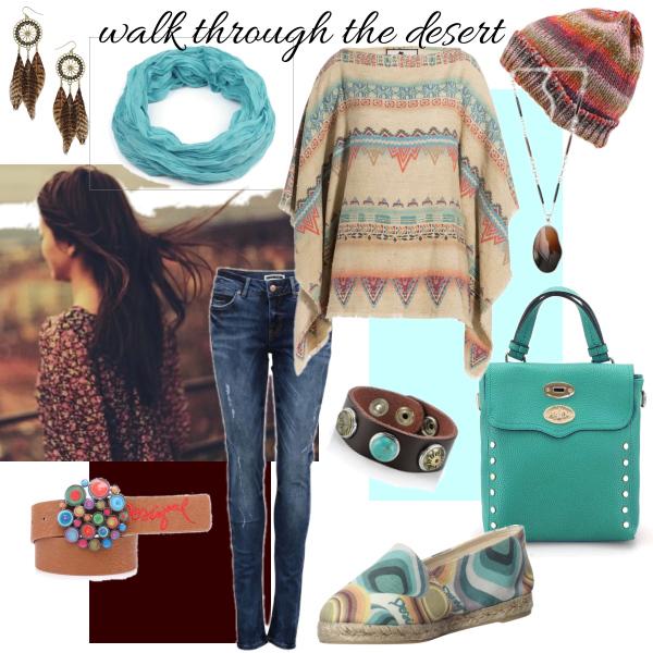 walk through the desert
