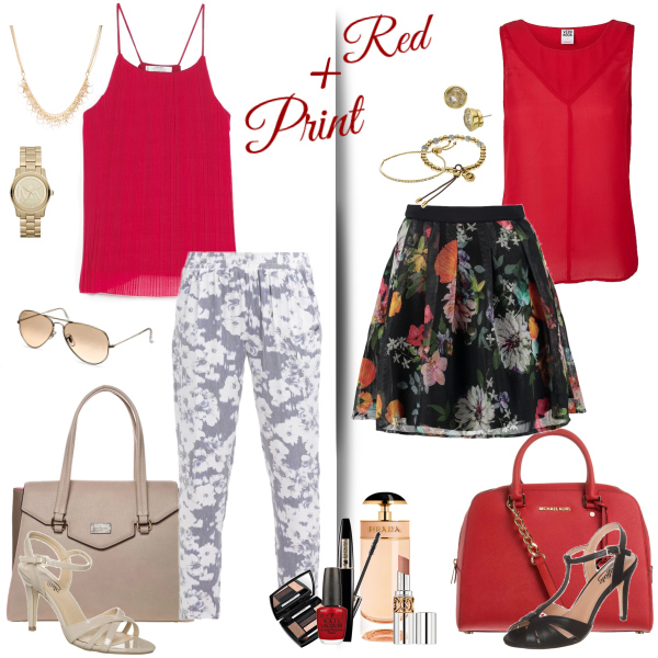 Red + Print