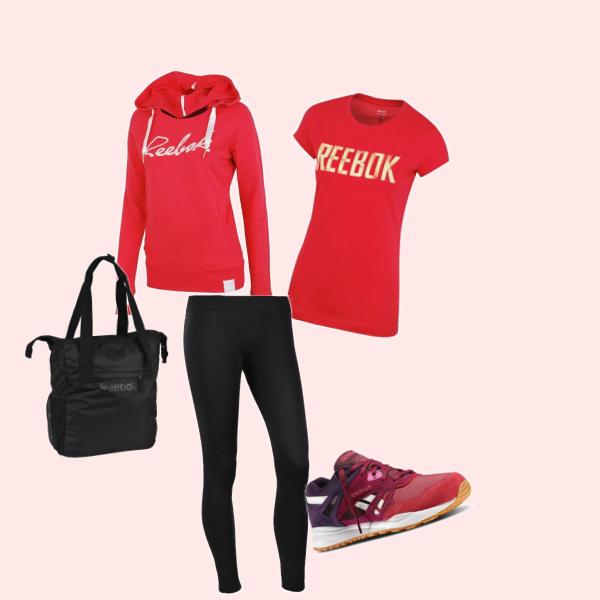 Outfit Reebok pro každý den
