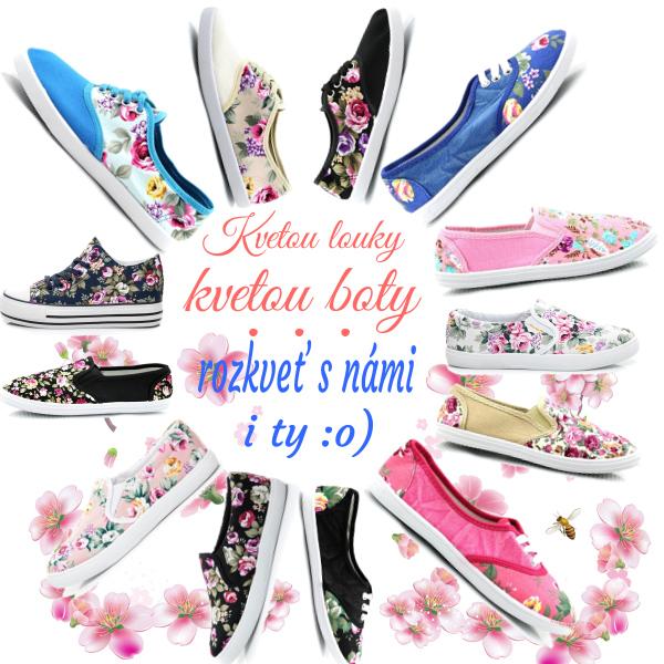 Kvetou louky, kvetou boty, a co ty? :o)