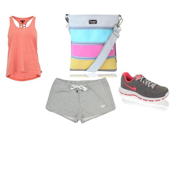 letní sportovní outfit