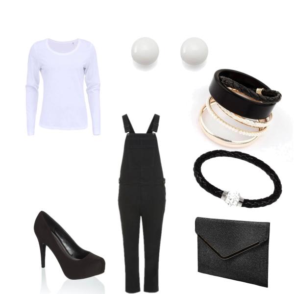 lacláčový outfit