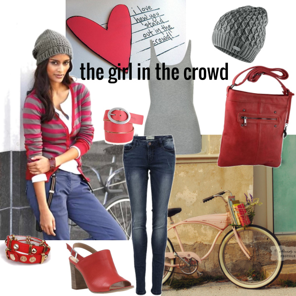 the girl in the crowd